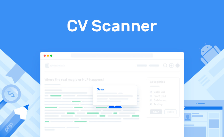 CV Scanner Recruiting tool for tech resume analysis